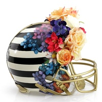 Nicole Miller helmet for Bloomingdale's Fashion Touchdown
