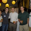 9 Rami Rodriguez, from left, Paul Gallant, Mike Melster, Wayne McNeil and Andrew Sumpter at the Bear Bryant Awards young professionals party October 2014