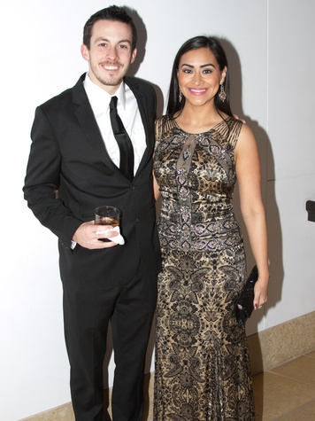 Blanton Art Museum Art on the Edge After Party 2015 Lucas Manring Selina Serna