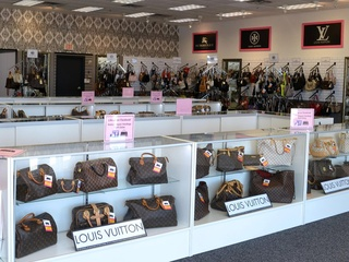 Louis Vuitton handbags at Keeks in Dallas