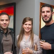Woodford Reserve Movember Event at Kunst Gallery Luis Rietti Kristie Bates Jeremy Cox