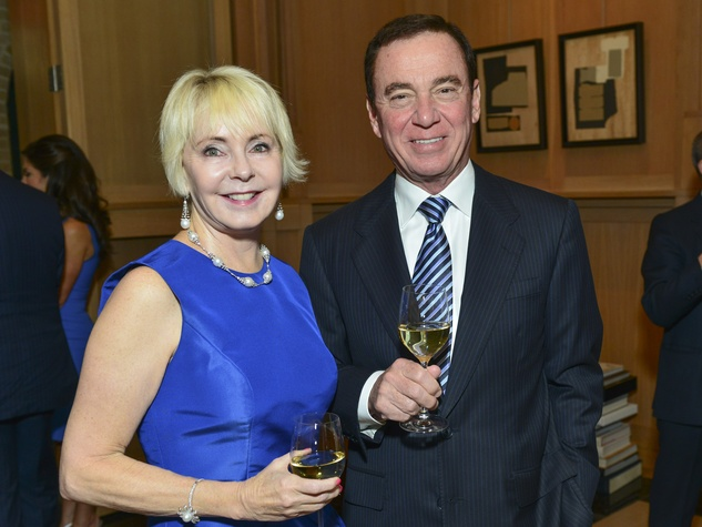 12 Karen and Mike Mayell at the Cason-Thrash Bulgari dinner April 2014