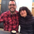 Ruth Reichl and Aaron Franklin
