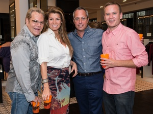 008_Fashion's Night Out, September 2012, Bubba McNeely, Claudia Jimenez, Mark Sullivan, Jason Reeves