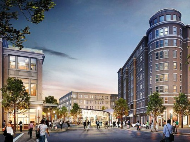 Regent Square, Houston, rendering