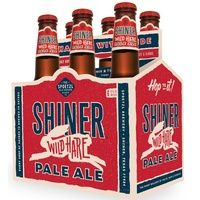 Austin Photo Set: News_Matt McGinnis_Shiner Wild Hare_beer_jan 2012_six pack