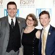 50 Actors' Equity Fund anniversary event September 2013 Seán Patrick Judge, Rebecca Greene Udden, Joel Sandel