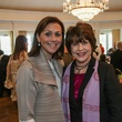 Donatella Benckenstein, left, and Mary Gracely at the Huffington Center on Aging luncheon October 2014