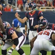Case Keenum Texans Falcons fingers