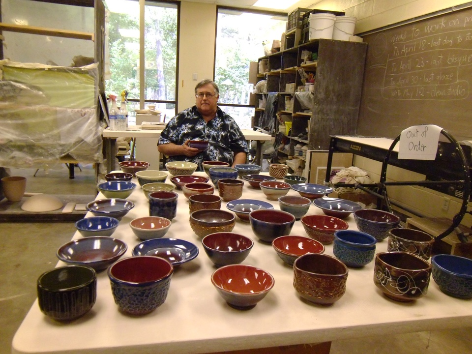 Jay Calder Empty Bowls May 2013