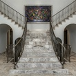 Split staircase at 8211 Inwood Rd. in Dallas