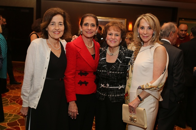 News, Shelby, Holocaust Museuc dinner, May 2015, Andrea White, Gail Klein, Regina Rogers, Cheryl Golub