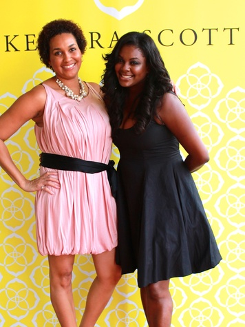 2 Recipe for Success Dress for Success event September 2013 Erica Wilfong and Ebony Goudeau
