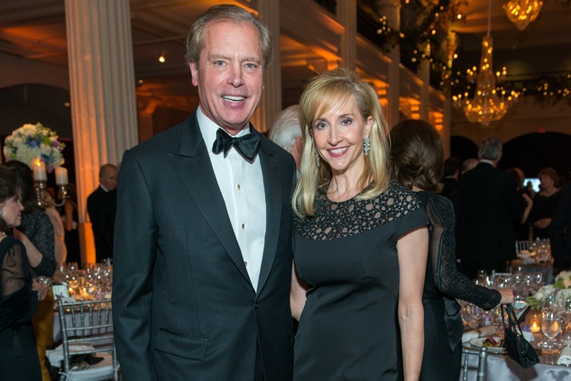 250 David and Tricia Dewhurst at the Houston Symphony Wolfgang Puck wine dinner March 2015
