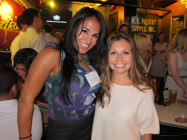 035_ Anna Lyssa Cuevas and Meghan Miller_Friends of DePelchin Happy Hour Little Woodrow's