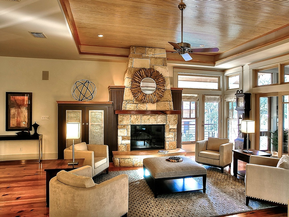 6 austin homes with luxurious living rooms you ll never for Living room austin