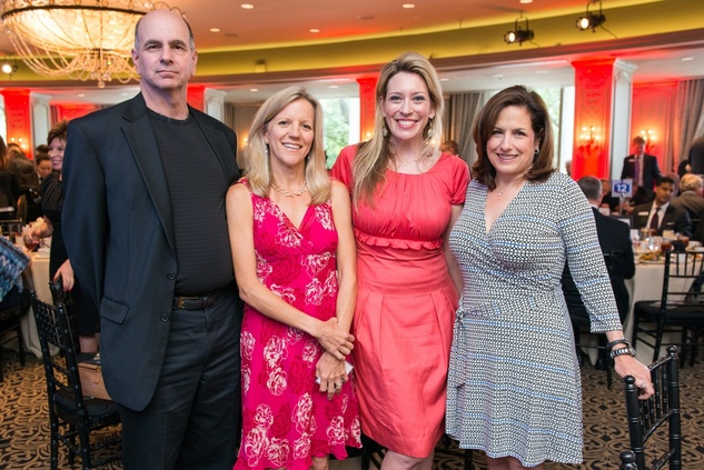 Houston, Crime Stoppers Awards luncheon, May 2015, Andy Kahan, Laura Otillar, Mauri Oliver, Michelle Heinz