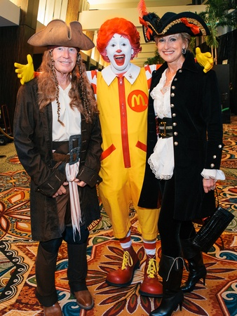 0021, Ronald McDonald House Boo Ball, October 2012, Mike Curran, Ronald McDonald, Veronica Curran