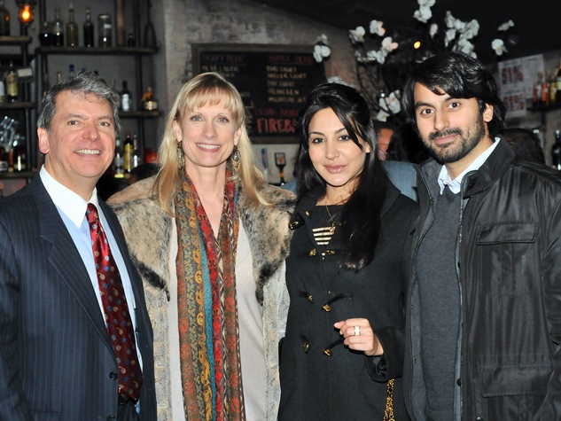 Roland and Karen Garcia, from left, and Lena and Ayman Nasser at the Mayor's Hispanic Advisory Board Holiday Party December 2013