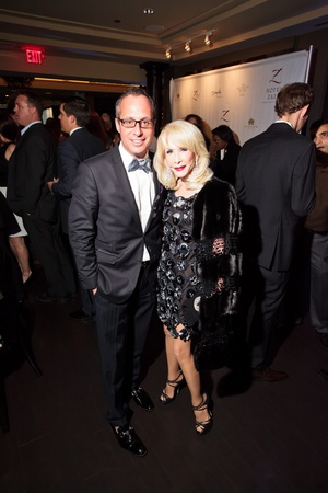 Fashion Houston wrap-up party at Hotel ZaZa, November 2012, Mark Sullivan, Diane Lokey Farb