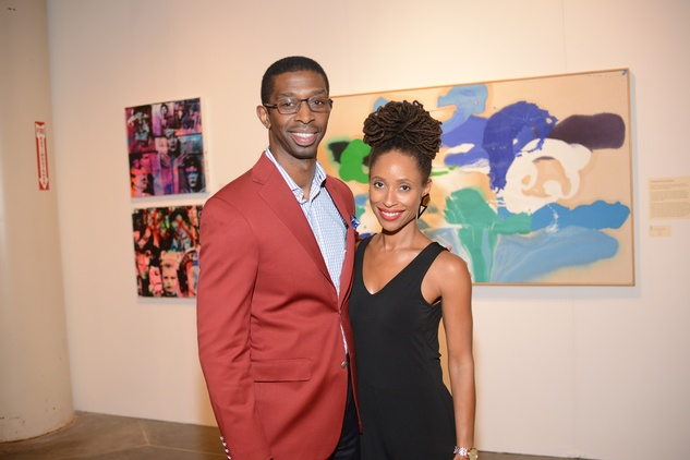 24 Troy Porter and Joi Maria Probus at the HFAF 2014 Opening Night September 2014