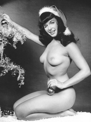 Bettie Page by Bunny Yeager, Playboy