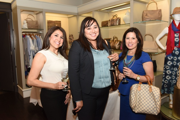 Houston, Elaine Turner Apparel Launch Party, May 2015, Laura Segovia, Christina Ortiz, Monica Tomkins