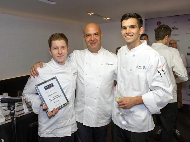 Houston, BKB Foundation Young Chef Competition, October 2015, Lee Foden-Clarke, Commis Camden Hershberger, Bocuse