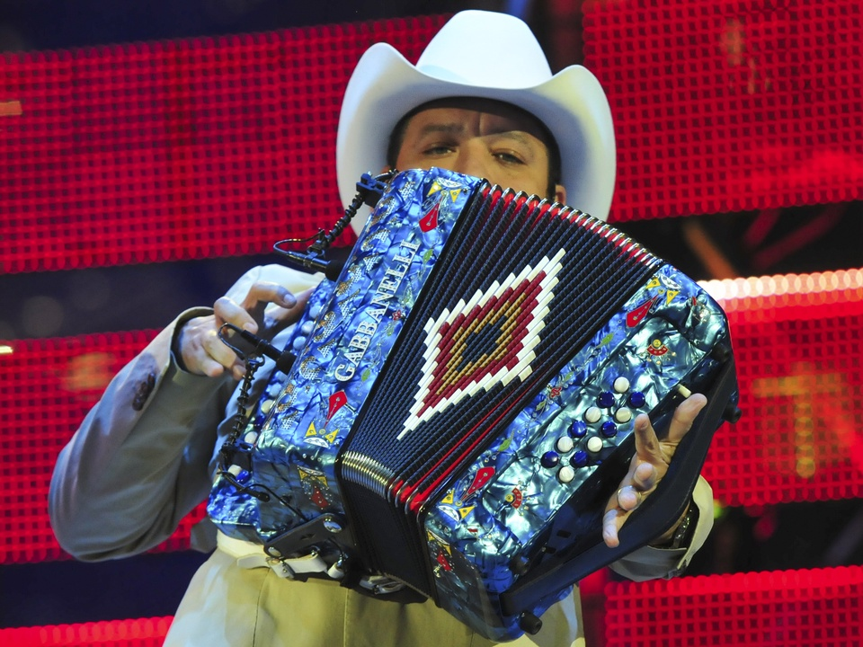 Go Tejano Day at Houston Rodeo with Grupo Pesado March 2014