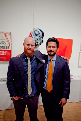 36 Patrick Renner, left, and Oscar Rene Cornejo at the CAMH Gala March 2015