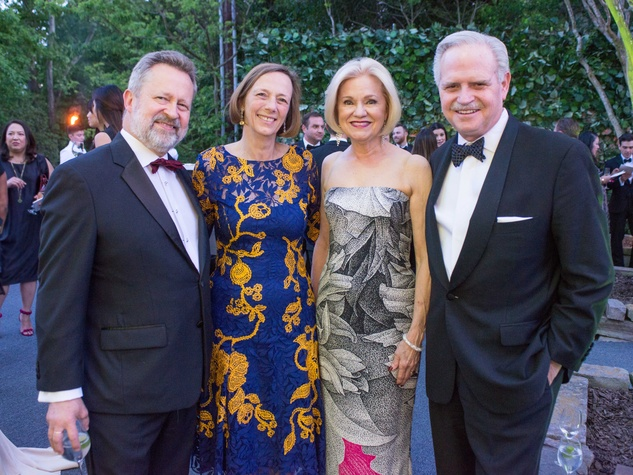 VAN CLEEF & Arpels party, April 2016, Piotr Glaitzine, Maria-Anna Galitzine, Jo Furr, Jim Furr