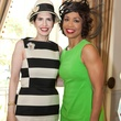 Dr. Kelli Cohen Fein, left, and Gina Gaston Elie at Hats Off to Mothers March 2014