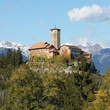 On the Market Castel Valer in northern Italy near Milan May 2014 day view 2