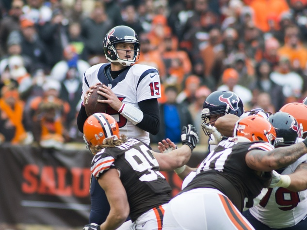 37 Texans vs. Browns first half November 2014 Ryan Mallett 15