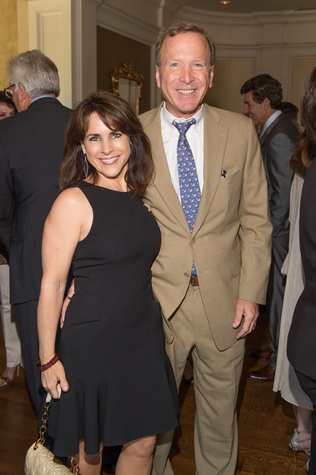 Houston, I Am Waters Luncheon_May 2015, Maria and Neil Bush