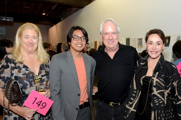 4 Coco Blaffer, from left, Ken General, Wade Wilson and Anna Dean at Luck of the Draw May 2014