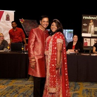 Montgomery County Go Red for Women 2015 Babu and Dr. Annie T. Varughese.