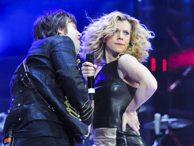 Band Perry at Houston Rodeo March 2014