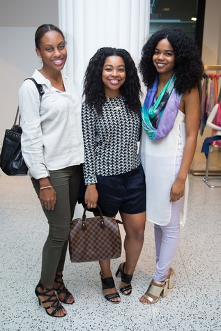 News, Shelby, Ovarian Cancer Awareness Month. tootsies, Sept. 2015, Kara Smith, Gabrielle Sauls, Jailyn Marcel.