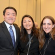 4 Gene Wu, from left, Julie Evans and Kristen Brauchle at the mayoral inauguration reception at the Houston Food Bank January 2014