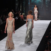Badgley Mischka, spring 2013, Mercedes Benz Fashion Week, September 2012