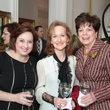 Michelle Stoddard, Carol Sawyer, Andy Delery, Crohn's & Colitis luncheon, March 2014