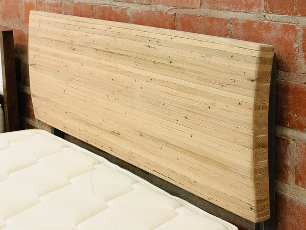 Reclaimed Wood Furniture Houston New Living_furniture_queen headboard made  from oak flooring reclaimed . - Reclaimed Wood Furniture Houston Top Furnitures Reference For Home
