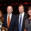 Susan and George Reul, from left, and Dr. Ross Reul and Terri Reul at the Texas Heart Institute dinner April 2014