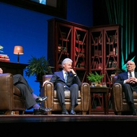 News, Shelby, MD Anderson Conversation with a Living Legend, Washington D.C.,Bob Schieffer, Bill Clinton, Colin Powel