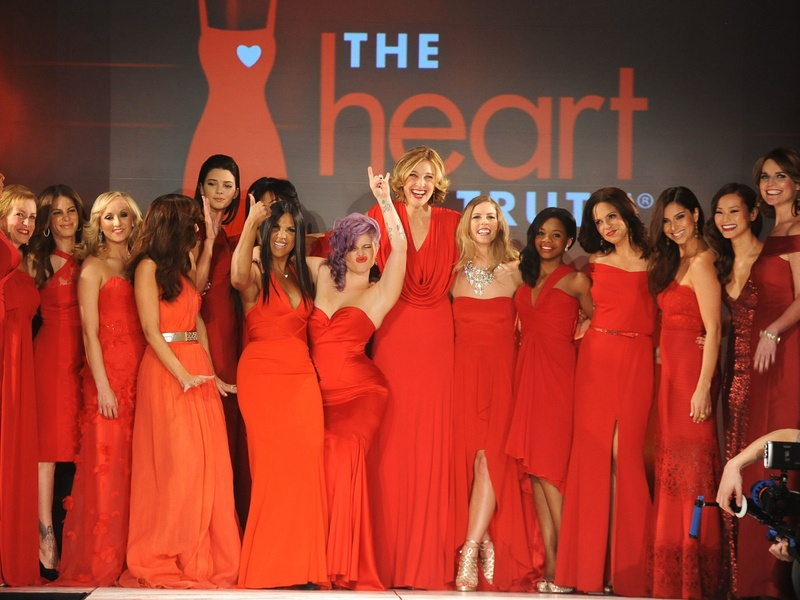 1, The Heart Truth Fashion Show, red gowns, February 2013