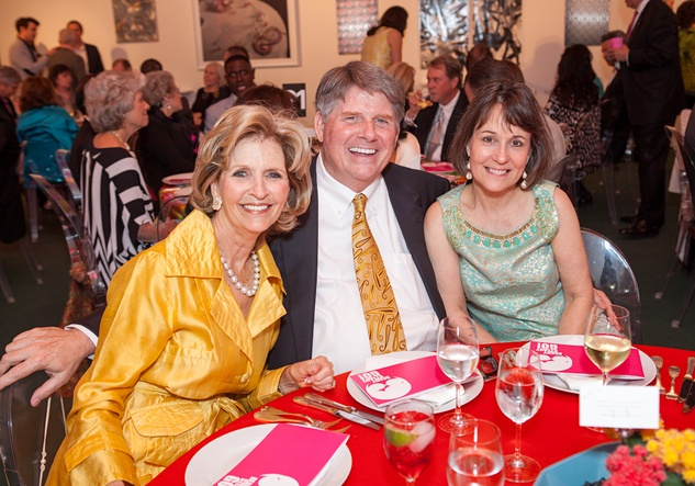 100 Penny Gregg, from left, with Gene and Meredith O'Donnell at the Blaffer Gala May 2014