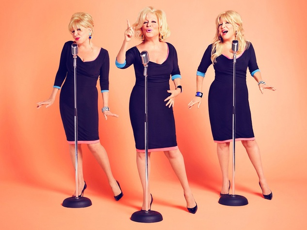Bette Midler It's the Girls! album cover November 2014
