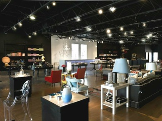 Interior of Nest store in Dallas