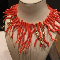 Wayne Smith Jewelry, Coral Necklace 2, June 2012